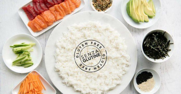 sushi senza glutine