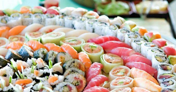 Tutti i tipi di sushi