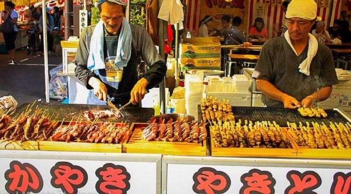 Street food giapponese