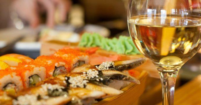 Sushi vino abbinamenti