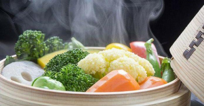 benefici vantaggi cottura a vapore