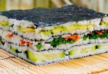 oshi sushi zushi tipico giapponese