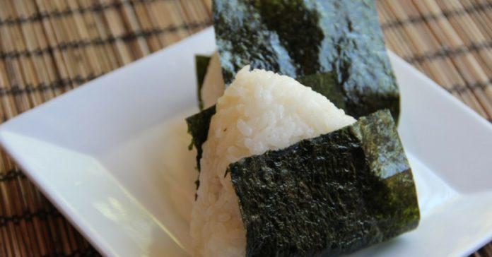 onigiri polpetta riso giapponese